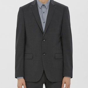 Theory Full Charcoal Suit